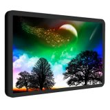 23 Zoll LCD-Bildschirmanzeige-geöffneter Rahmen-flach kapazitiver Noten-Monitor