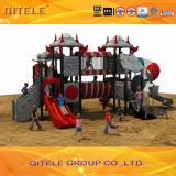Ruimte Schip III van Kinderen van de OpenluchtReeks Apparatuur van de Speelplaats (spiii-06001)