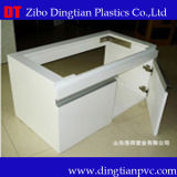 Le panneau de meubles avec blanc extérieur rigide imperméabilisent