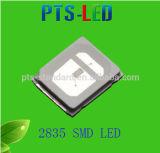 Garantía 5 años 0.5W 2835 SMD LED en color azul claro con el CE, RoHS