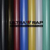 Ultrawrap 1,52 x30m Bubble Free vinyle en fibre de carbone 2D