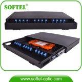 Max panneau polyvalent 48 Core ODF à fibre optique