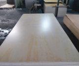 4*8 3/4'' de tamaño estándar de 5/8'' bien comercial Prefinished irradiar la hoja de contrachapado de madera de pino