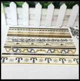 Временно металлический стикер Tattoo способа ювелирных изделий переноса воды сусального золота