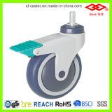 Alles medizinische Fußrollen-Plastikrad (L502-39C100X32A)