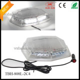 Van Warning Safety Beacon Lights in White LED Clear Dome