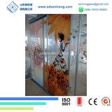 vidrio Tempered de la impresión de 10m m Digitaces para la puerta deslizante de cristal