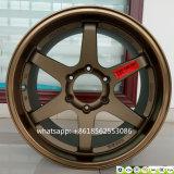 La rotella di alluminio di Volk dei raggi borda la rotella della lega della replica Te37
