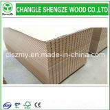 16mm Wood Grain Melamine MDF Slot Panel Display Board