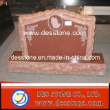 Piedra sepulcral de las lápidas mortuorias del granito para el monumento occidental