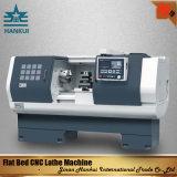 Flaches Bett CNC-Drehbank-Maschinerie des Spindel-Loch-Klopfer-Mt6