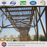 Estructura del braguero del tubo de acero para el puente de acero