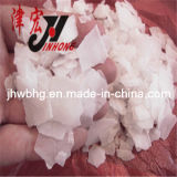 Het Natrium Hydrote, de Vlokken van de textielVerwerking van de Bijtende Soda van 96%