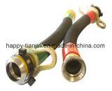 Boyau Drilling hydraulique solides solubles d'incendie de tresse extérieure résistante de l'abrasion