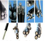 D'AAC/ACSR/AAAC de faisceau câble empaqueté aérien d'ABC de câble au-dessus