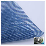 Maglia di sicurezza di costruzione del poliestere del PVC/rete fissa rivestite superiori rete metallica