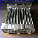 Славным анкер сваренный качеством конкретный стальной столба 71X71X750mm