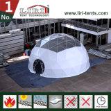 AC를 가진 방수와 방연제 돔 천막, 판매를 위한 반구 천막