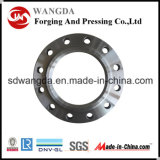 L'acier du carbone de la norme ANSI B16.5 Calss 600 a modifié des brides de Slip-on