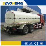 caminhão de petroleiro do combustível de 20000L (20m3) Sinotruk HOWO 6X4 para o transporte do petróleo