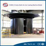 Machine décorative de métallisation sous vide de la feuille PVD d'acier inoxydable