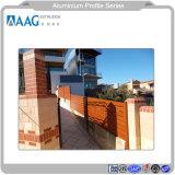 Fornitore di alluminio di profilo delle espulsioni di alluminio industriali per la finestra e portello e rete fissa divisoria e del parete ed inferriata esterne