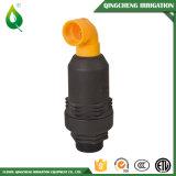 Schwarze preiswerte Bewässerung-Plastikluft-Freigabe-Ventil