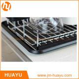 Jiangmen 4 단계 철사 선반설치, 크롬, 바구니를 겹쳐 쌓이는 Whitmor 최고 넓은 크롬에 상점 철사 선반설치 단위
