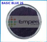 صبغ أساسيّ اللون الأزرق 26 أساسيّ ملكيّة اللون الأزرق باهر اللون الأزرق اصباغ