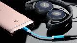 3.5mmのヘッドホーンのアダプターのイヤホーンの可聴周波補助ケーブルへのUSBのタイプC