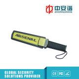 Détecteur de métaux tenu dans la main de haute sécurité avec l'agrafe contrôlant la sensibilité