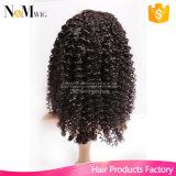 Remy человеческих волос полная шнурка человеческих волос париков волна глубоко (QB-LFW-DW)