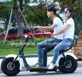 Fettes Rad-elektrischer Roller des Gummireifen-zwei mit Doppelsitzen