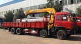 Dongfeng 유압 트럭 기중기 8*4 기중기 트럭 16 톤 4 차축