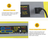 Marquage CE Mini automatique oeuf de caille incubateur pour 132 d'oeufs