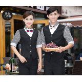 Uniforme su ordinazione della cameriera di bar del cameriere di ricezione dell'hotel di alta qualità