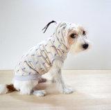 كلب ملابس مع ببغاء [مكرون] لون
