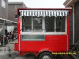 Chariots de vente de crême glacée de rue
