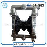 Edelstahl-Luft-pneumatische doppelte Membranchemischer Prozess-Pumpe