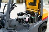 Transmisson自動システムが付いている3tonディーゼルフォークリフト