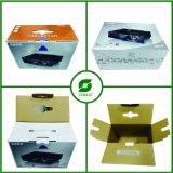 Voller Abdeckstreifen-kundenspezifischer gewölbter Kasten mit Griff-Großverkauf