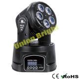 Indicatore luminoso capo mobile di /LED del mini dell'indicatore luminoso 5X15W /LED del LED indicatore luminoso chiaro capo mobile capo mobile di effetto mini