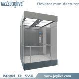 Elevador panorámico del pequeño sitio de la máquina