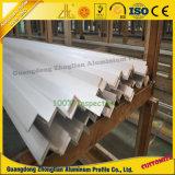 Profiel van de Hoek van het Aluminium van de Producten van het aluminium het Fabrikanten Geanodiseerde