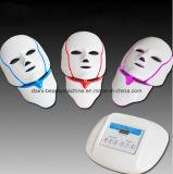 Маска терапией системы СИД свободно маски шеи фотона СИД СИД цветов PDT перевозкы груза 3 лицевой франтовская светлая для Anti-Aging маски красотки