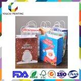 Bolsa de presente de compras de papel de design customizado em 2017 para promoção