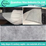 Banda de cintura elástica azul / branca para matérias-primas para bebês / tecidos adultos