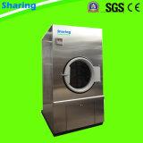 50kg, secador de roupa comercial do gás da lavanderia 100kg