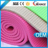 Couvre-tapis insipide en gros Rolls de yoga de PVC de coutume