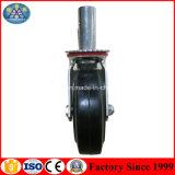Используемое колесо рицинуса лесов трапа Fram строительного оборудования передвижное с тормозом
